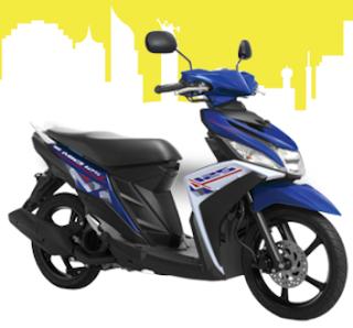 Yamaha Mio M3 Biru terbaru 2016