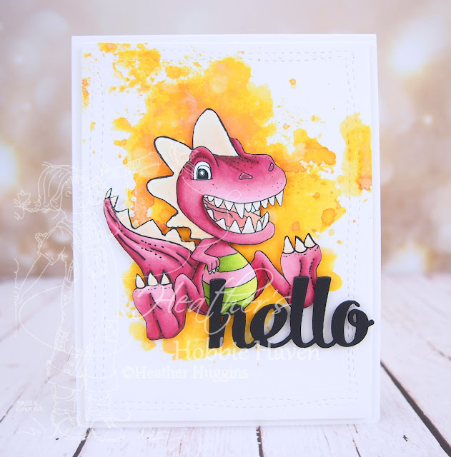 Heather's Hobbie Haven - Dinosaur 2 Card