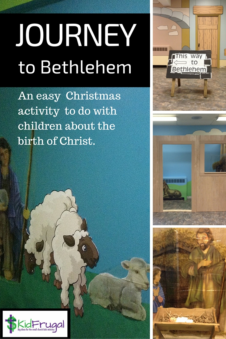 Ad for Journey to Bethlehem material