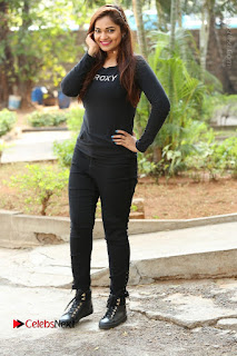 Actress Aswini Latest Stills in Black Denim Jeans  0190.JPG