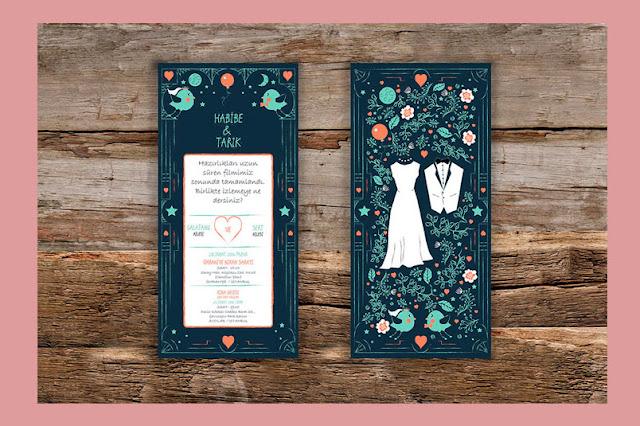 invitaciones de bodas modernas actual