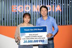 """Anh Thành Tâm SPO Royal ủng hộ quỹ """"Hướng về miền Trung"""" của cộng đồng AoE Việt Nam!"""