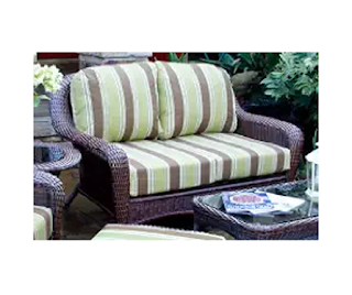 Lexington wicker loveseat, Outdoor Furniture, Outdoor Living, Patio Furniture, Tortuga Outdoor Garden Patio Lexington Loveseat, Wicker Furniture, Wicker Loveseat,