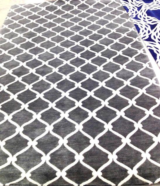 Grey rug