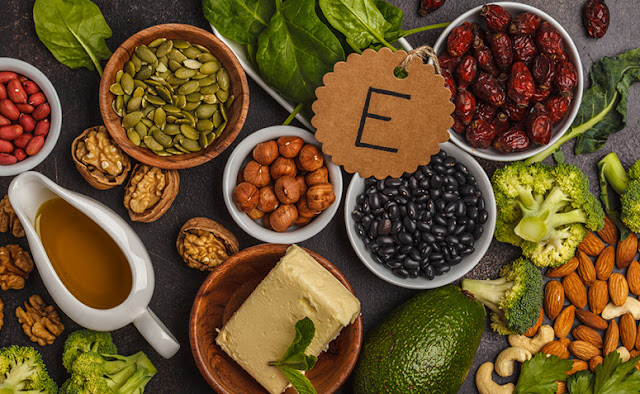 alimentos ricos em Vitamina E