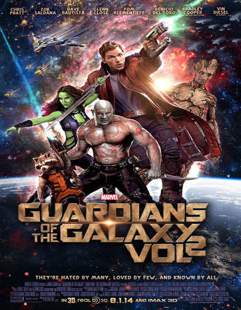 Guardians of the Galaxy Vol. 2 2017 English Web-DL 480p 400MB