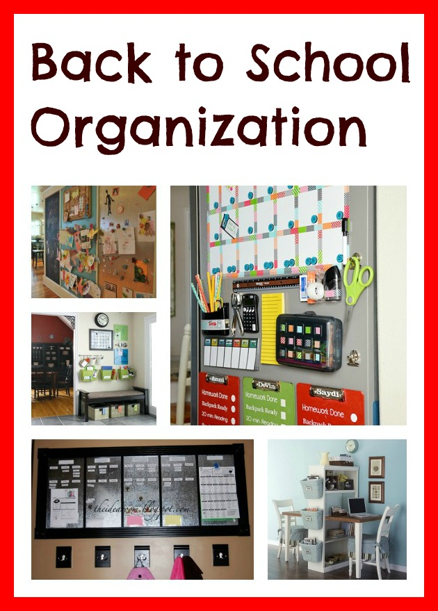 Second chance to dream back to school organization - Back to school organization ...