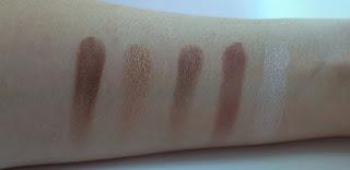 παλέτα σκιών too faced chocolate bar