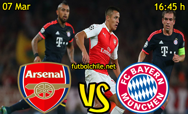 Ver stream hd youtube facebook movil android ios iphone table ipad windows mac linux resultado en vivo, online: Arsenal vs Bayern Munich