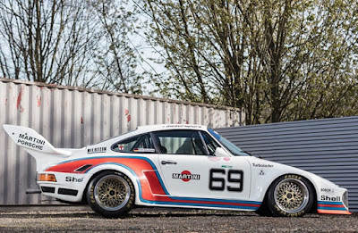 1976 Porsche 934 5 Racing Car Side Right