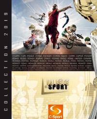 Catalogue La Fête du Sport 2019 : Coupes, Médailles, Trophées.