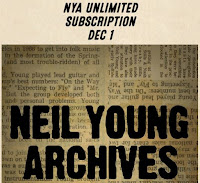Neil Young Archives 1. Dezember 2018