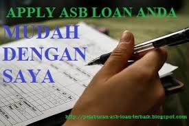 Isi borang asb loan