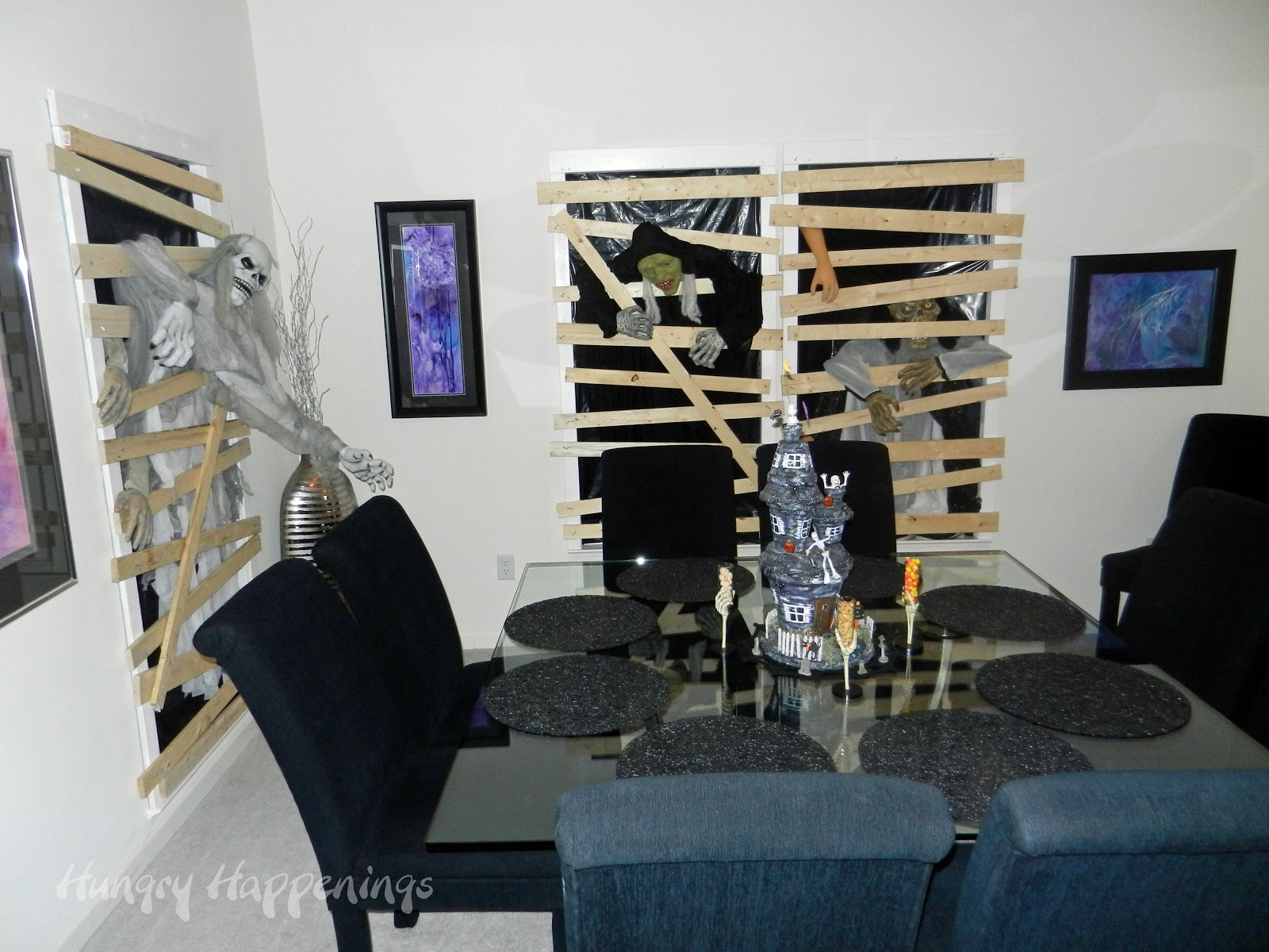 Zombie decorating ideas elitflat zombie party party planning ideas for your zombie themed solutioingenieria Gallery