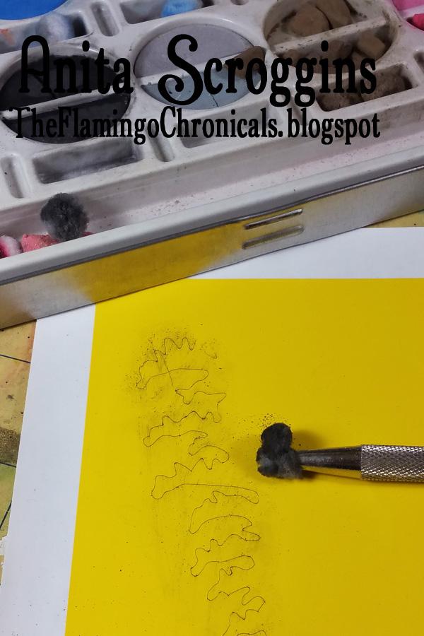 outlining stencil cut