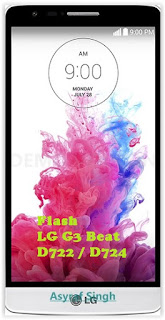 Flash / Install Firmware LG G3 BEAT D722 / D724