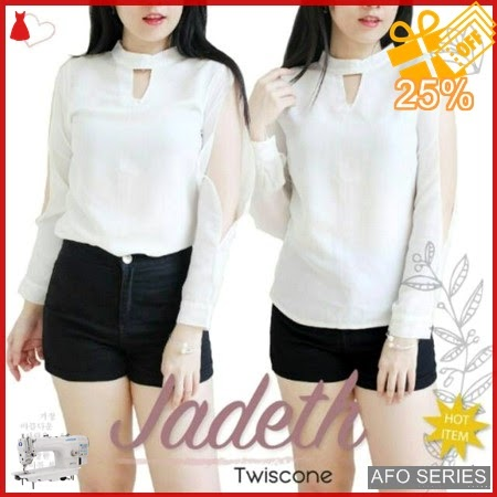 AFO486 Model Fashion Blouse Jadeth Modis Murah BMGShop