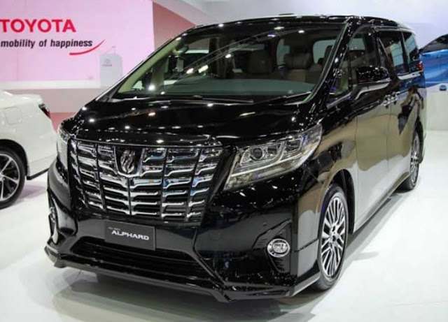 2017 Toyota Alphard Release Date, Price, Review, Specs