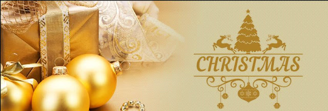 Golden Christmas Fb cover