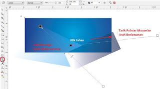 Contoh Desain Spanduk Toko Fotocopy dengan CorelDRAW X4