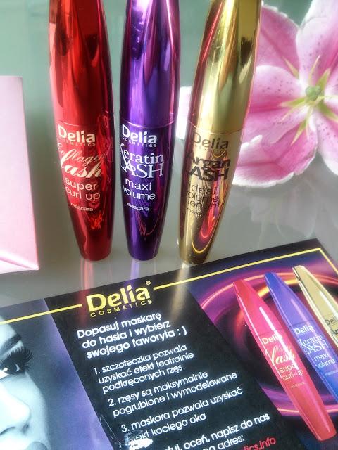 Delia, Mascary do rzęs: Argan Lash, Keratin Lash i Collagen Lash