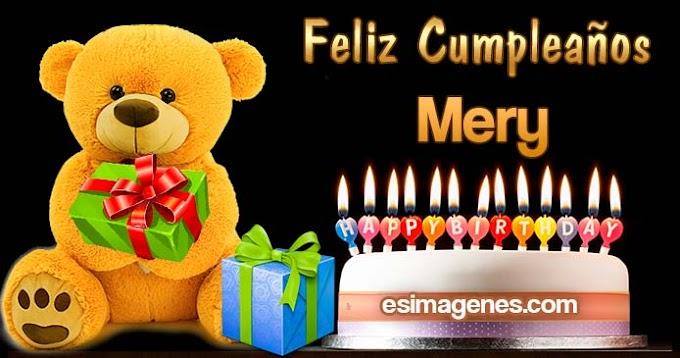 Feliz Cumpleaños Mery