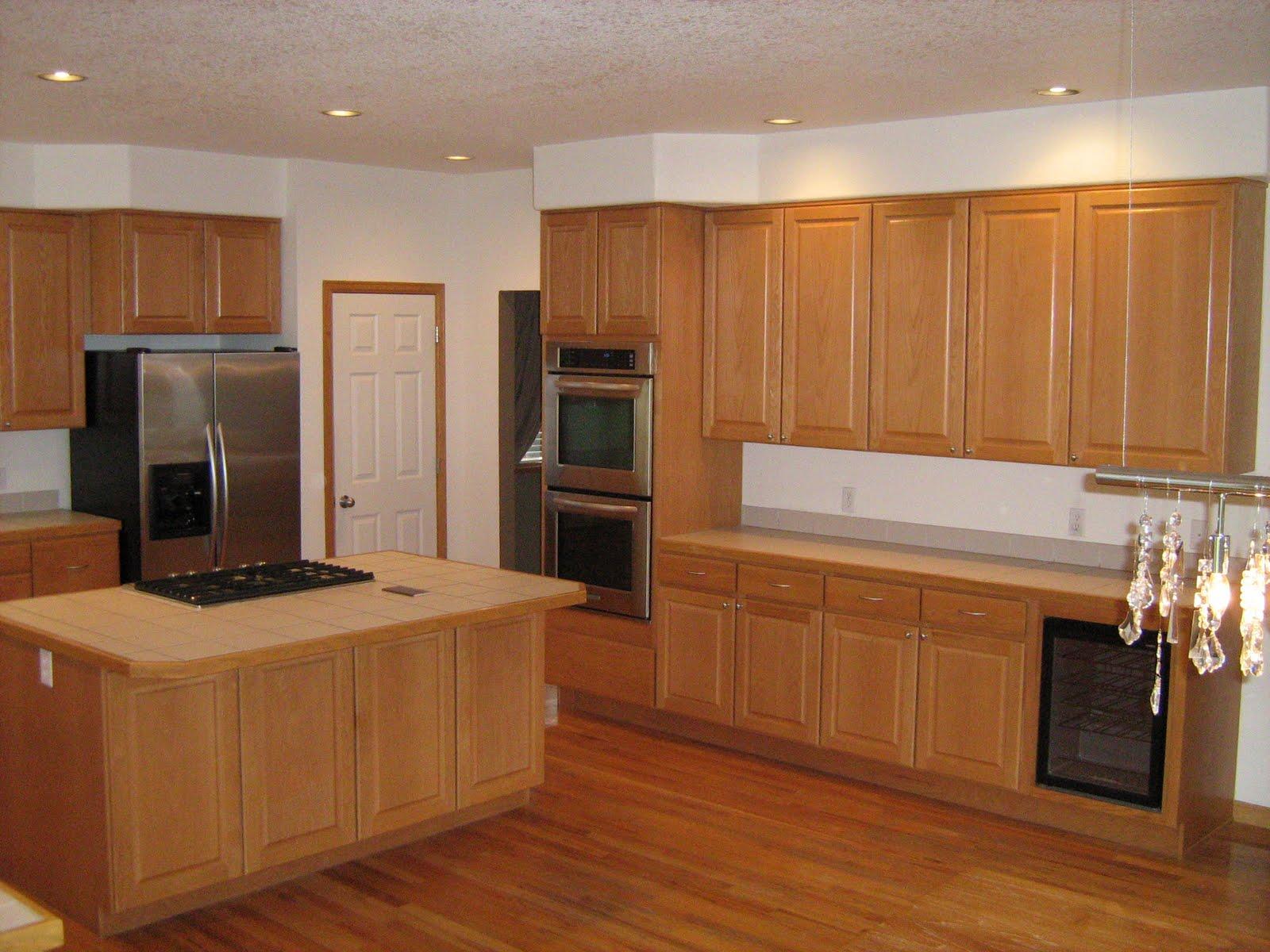 kitchen remodel complete cabinets hardwood floor in kitchen Kitchen Remodel Complete Cabinets Countertops Backsplash Flooring