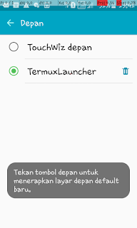 aplikasi terminal launcher