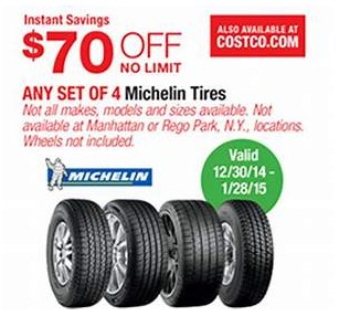 Buying Michelin Tires At Costco