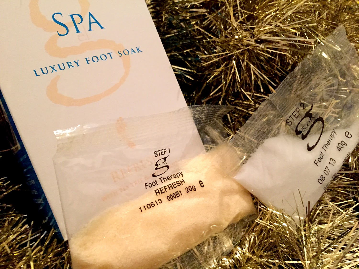 Gelicity Gel Spa Foot Soak Review