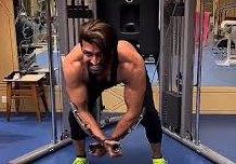 Actor Arun Vijay Shear Gym Video  Cineclipz.com