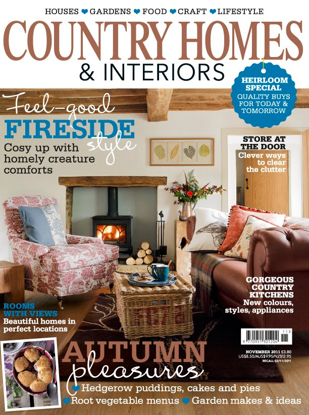 Mangle Prints Country Homes And Interiors Magazine