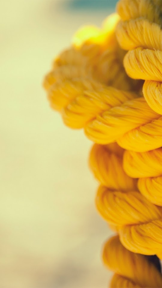 Yellow Ropes Close Up  Galaxy Note HD Wallpaper