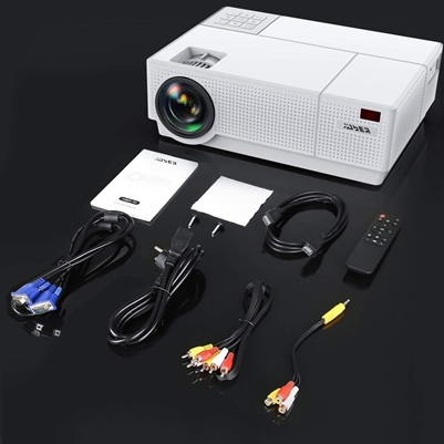 Yaber Y31: proyector 4K de 300'', con altavoces de 5W y soporte Chromecast