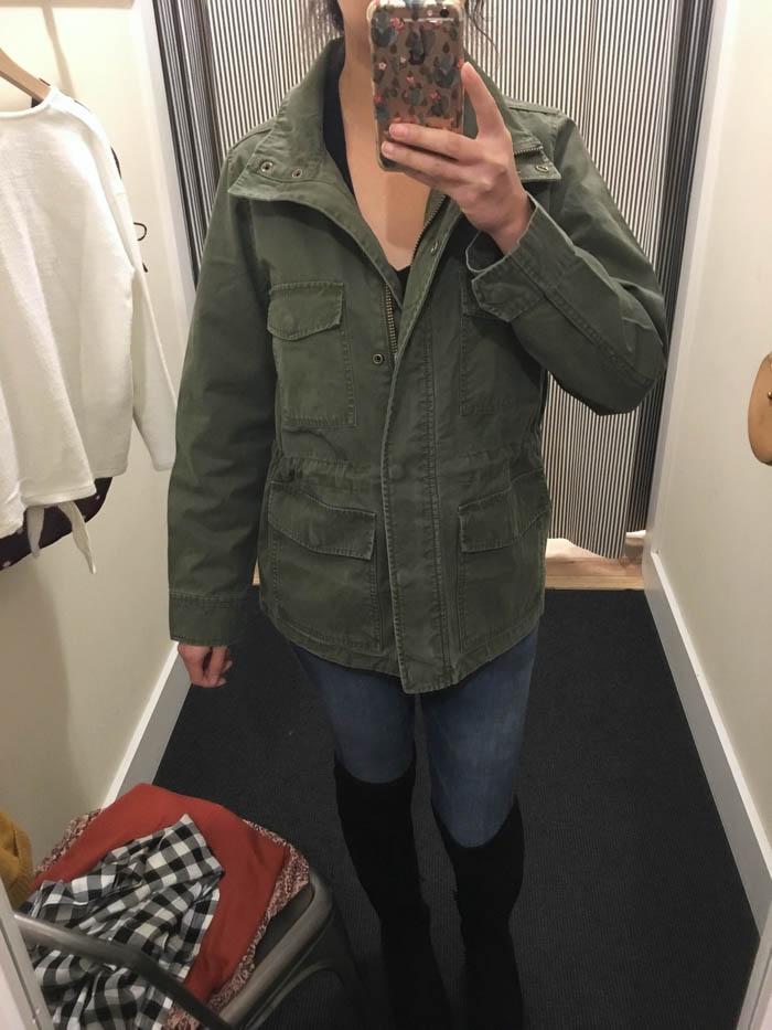 Oversized utility jacket