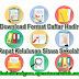 Download Format Daftar Hadir Rapat Kelulusan Siswa Sekolah