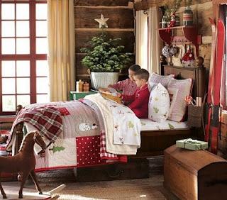 Decoración habitación navidad