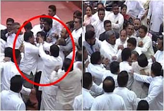 Parliament Sri Lanka Fight Full Video