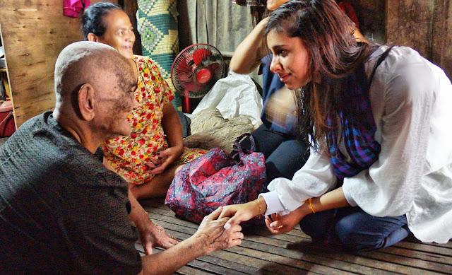 Avec une grand-mère à la santé défaillante et suivie par le programme Shanty Town Spirit