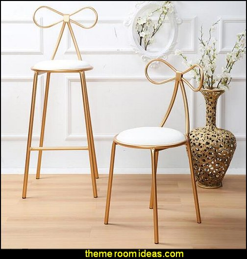 Nordic iron art bar chair chair creative bar high stool  novelty furniture - unique furniture - unusual gifts - novelty lighting - fun decorations -  unique gifts - uncommon furniture - fun gifts - fun furniture - online home furnishing shopping -