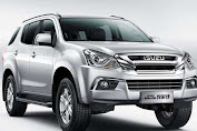 Isuzu MU-X Gets China Market, Interior More Elegant!