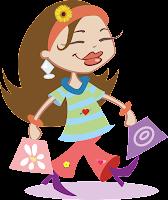 Menina foi fazer compras para o cabelo e está cheia de sacolas de produtos liberados para No Poo e Low Poo