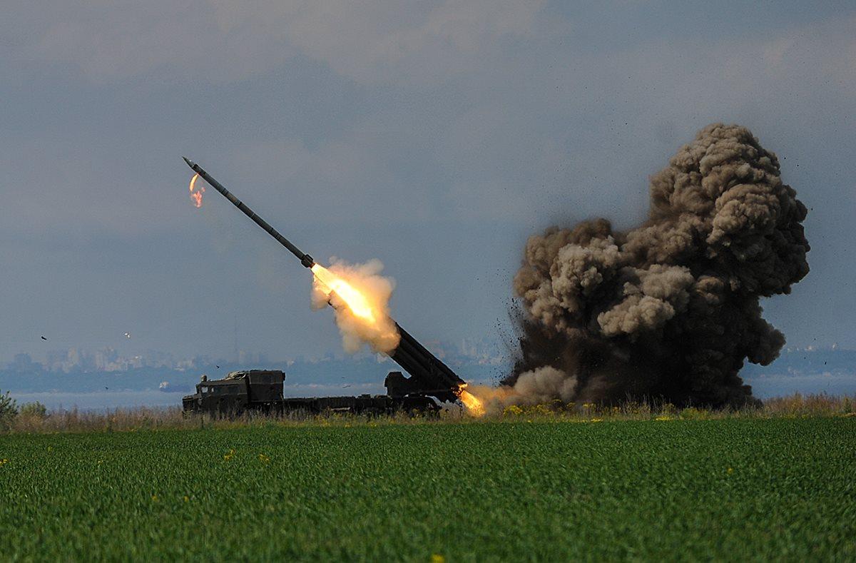 випробування тактичних ракет українського виробництва Вільха