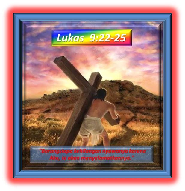 Lukas 9:22-25
