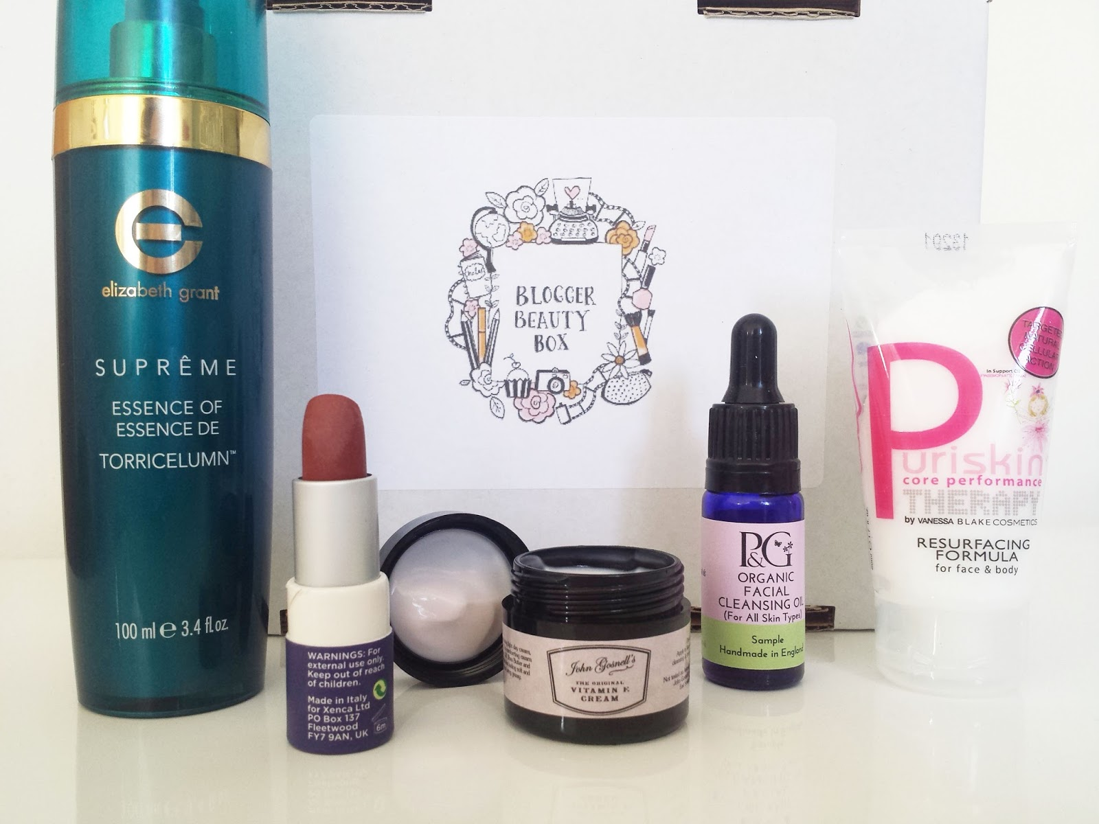 Blogger Beauty Box Makeup and Skincare