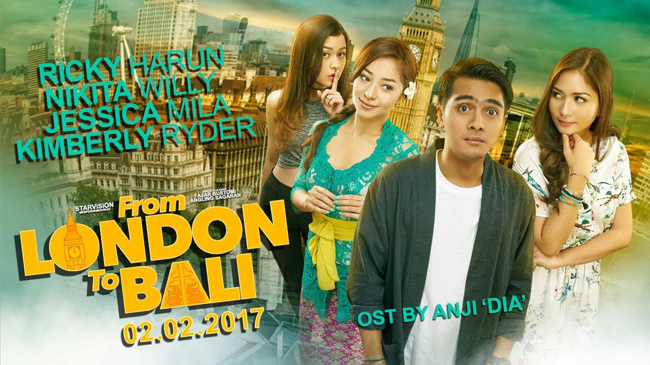 Download Film From London To Bali 2017 Full Movie Mp4
