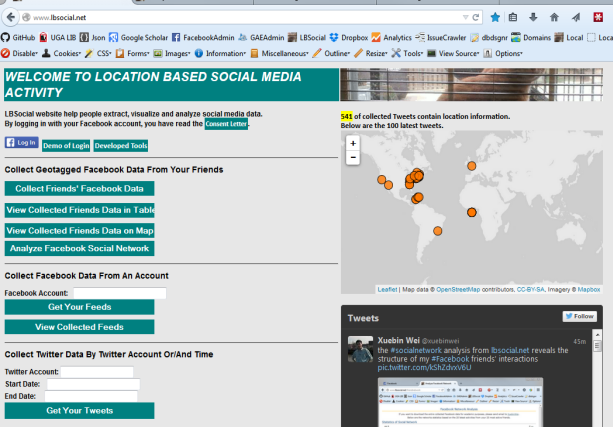 Location-Based Social Media: How to Extract, Visualize and Analyze