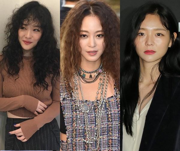 model rambut hippie Artis Korea