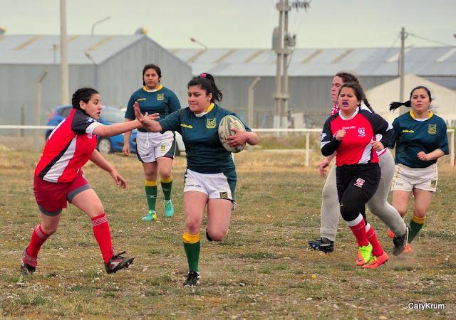 El rugby femenino disfrutó de su segundo encuentro en el año