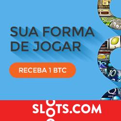 Ganhar 1 Bitcoin gratis no casino slot